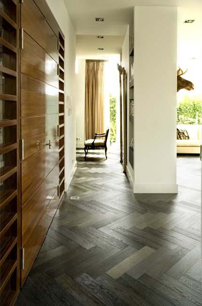 New Classics Louvre Oak nature smoked brushed coloured natura oiled - 610x122x15
