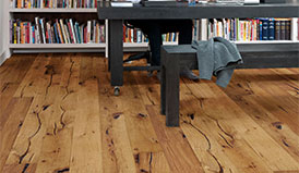 Natural wooden floors