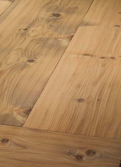 116 Pine (Arve) damped, handscraped - brushed and oiled