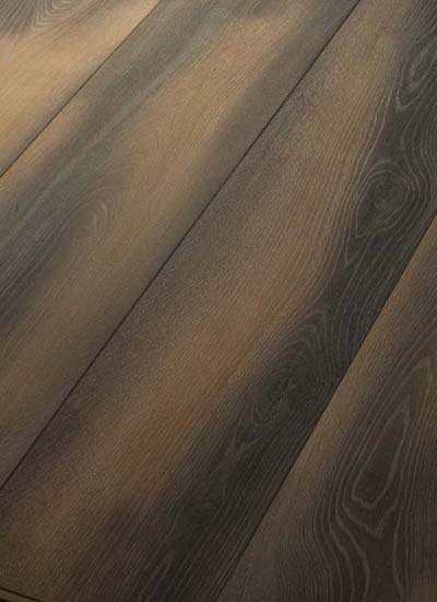 121 Oak, brushed, lyed, grey patinated and oiled