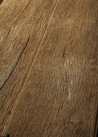 125 Wall covering - Oak Old wood, original sides, brushed - raw
