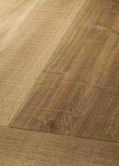 13 Oak Emperior Plank - original surfice brushed, rounded, lyed and soaped