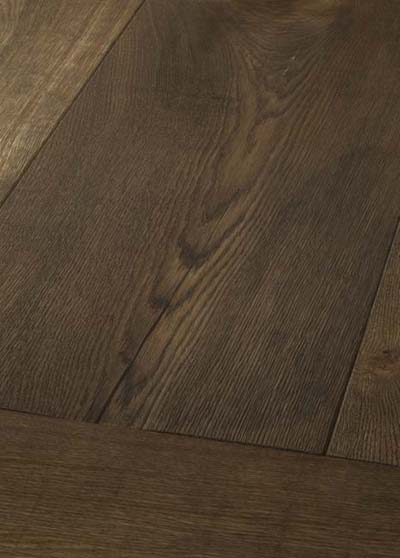 5 Oak Emperior Plank - original surfice brushed, lyed and oiled