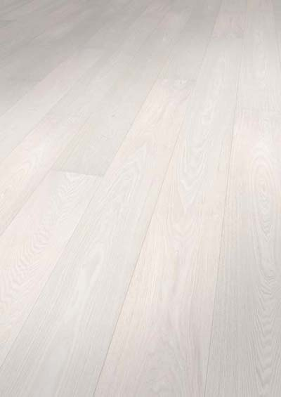 Orginals Veneto  FSC Ash mix selection brushed white lacquered, CLICK - 1860x189x14mm