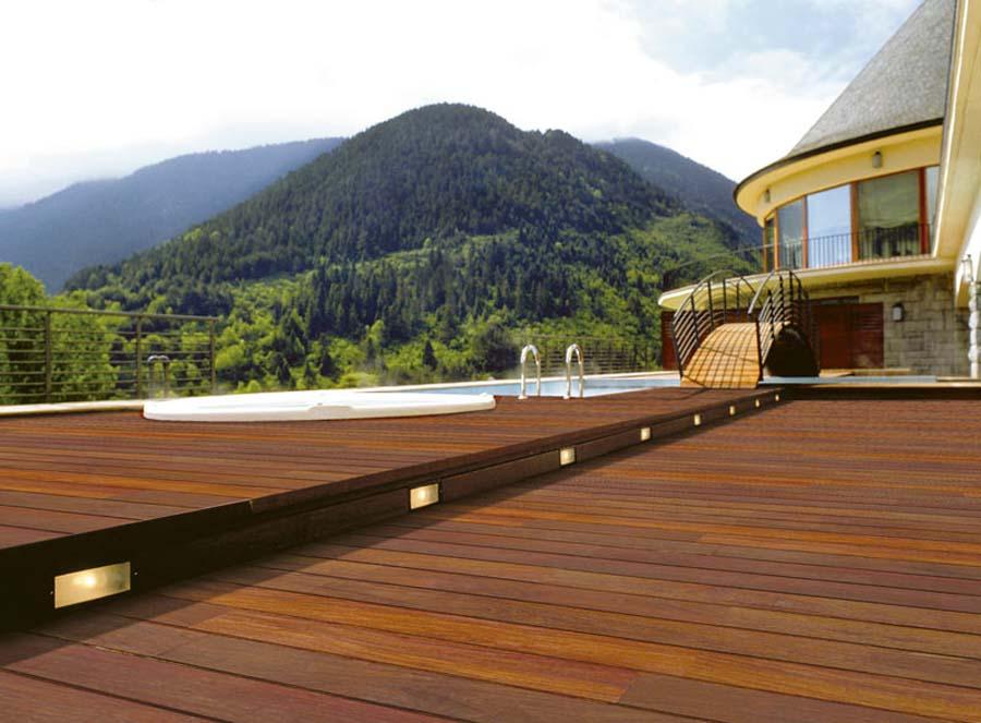 Legno per esterni terrazza in legno nordholz