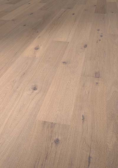 Vintage Kinabalu FSC Oak extra rustic brushed distressed handscraped smoked white oiled - 2200x220x15mm