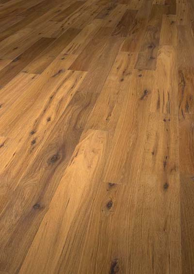 Originals Los Angeles Oak extra rustic distressed smoked natural oiled - 1220x158x10mm