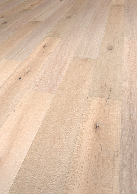Vintage New Hampshire FSC Oak extra rustic brushed handscraped fine sawn colored invisible oil - 1900x190x15mm
