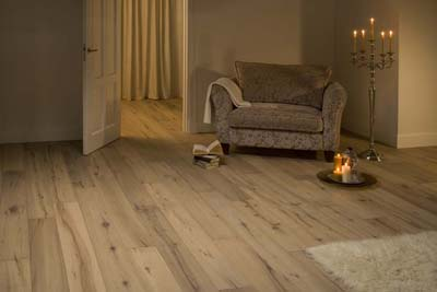 Originals Tundra FSC Oak extra rustic distressed smoked white oiled - 1900x190x15mm