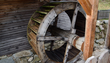Waterwheel of the Lipp Saw