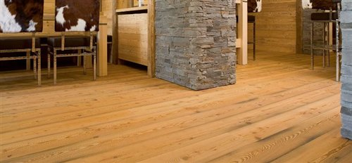 Mountain larch antic brushed oiled - 2200x186x14mm