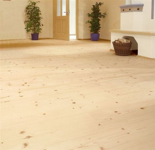 Spruce brushed white oiled - 2200x186x14mm