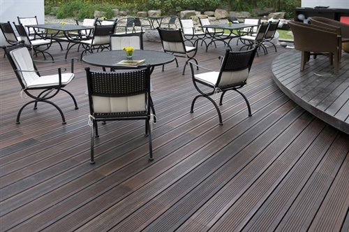 Decking in Bamboo Extreme FSC