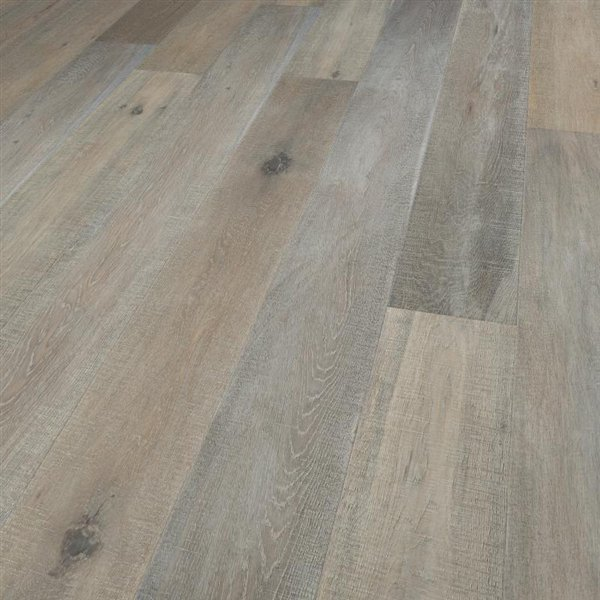 Vintage Oregon Oak extra rustic fine sawn handscraped brushed coloured white oiled - 1900x190x15mm
