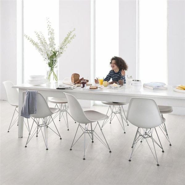 Orginals Veneto Ash mill run brushed white lacquered CLICK - 1860x189x14mm
