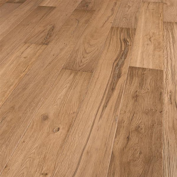 Earth & Fire Moose Oak extra rustic deep brushed thermo treated invisible oiled - 1900x190x15mm