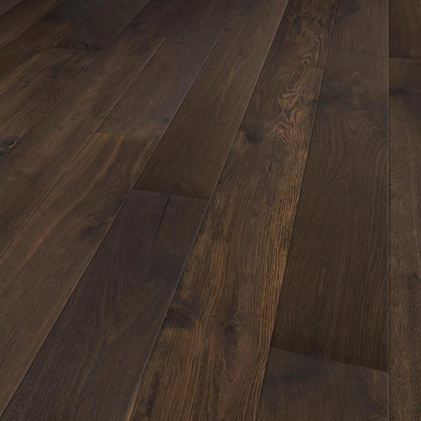 Lifestyle Caddo Oak extra rustic brushed thermo treated natural oiled - 1900x190x15mm