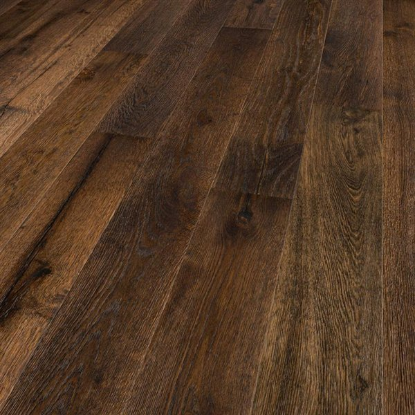 Earth & Fire St. Helens Oak extra rustic smoked deep brushed handscraped coloured natural oiled - 1900x190x15mm