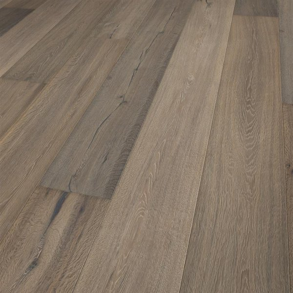 Lifestyle Naples Oak extra rustic brushed handscraped coloured natural lacquered - 2200x260x15mm