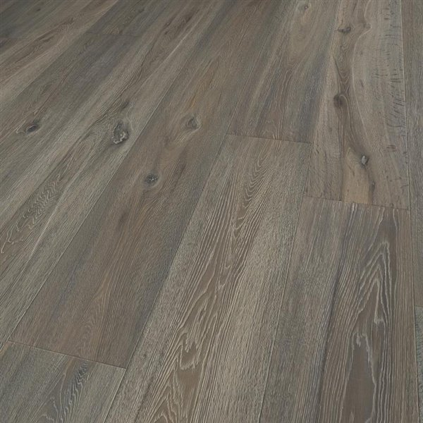 Lifestyle Montgomery Oak extra rustic brushed handscraped coloured scrubbed knots natural lacquered - 2200x260x15mm