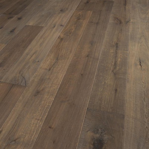 Vintage Kentucky Oak extra rustic brushed fine sawn handscraped coloured natural oiled - 2200x220x15mm
