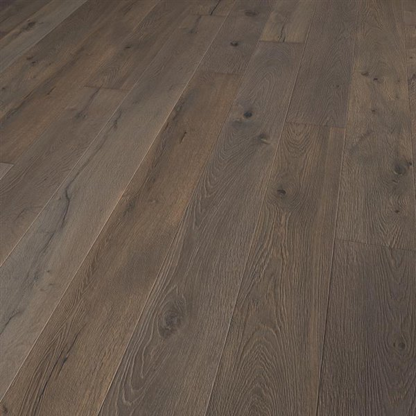 Vintage Aubisque Oak extra rustic brushed coloured natural oiled - 1900x190x15mm