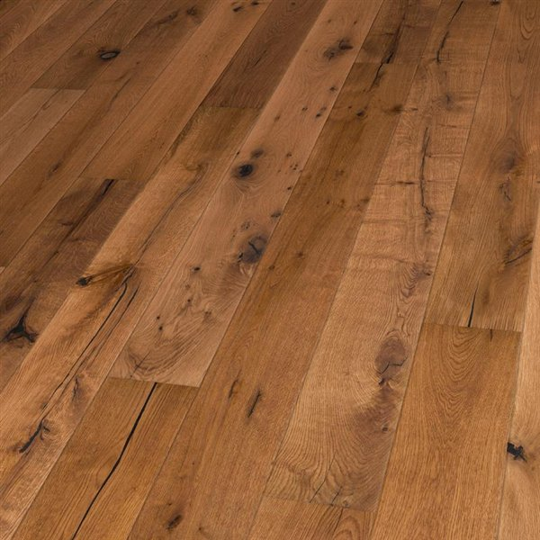 Lifestyle Lake Drummont Oak extra rustic brushed coloured natural oiled - 1900x190x15mm