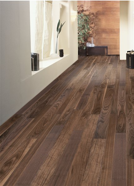 Nut american rustic oiled - 3 wide