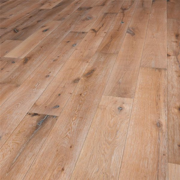 Vintage Azores Oak extra rustic deep brushed handscraped white washed natural oiled - 1900x190x15mm