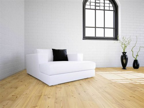 Universal board  Larch rustic brushed natural - 1973x137x20mm